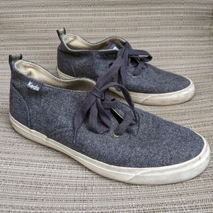 Keds Triumph Gray Wool Mid Height Sneaker 8